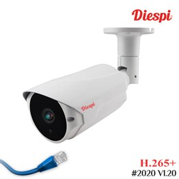 Diespi DS-F106 5.0MP IP H.265+ Dome Güvenlik Kamerası