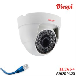 Diespi DS-F36AR 5.0MP IP H.265+ Dome Güvenlik Kamerası